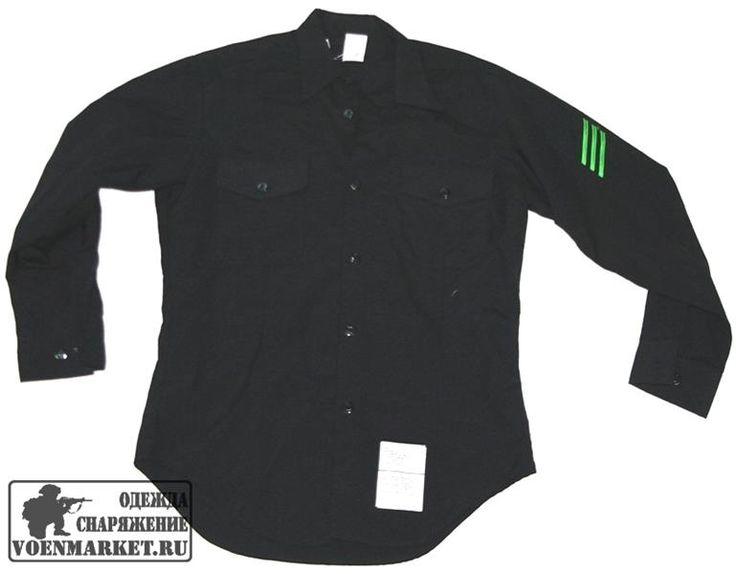 Морская черная рубашка