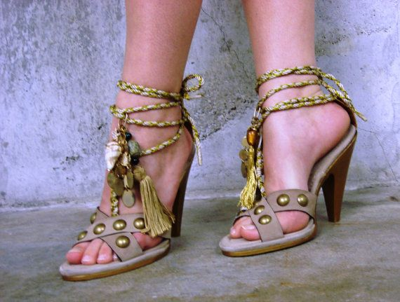 One of a king customized pair of Max Azria by JandVAddicted, $95.00