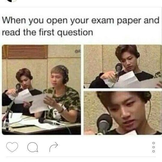 how to open exam files