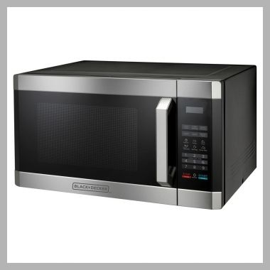 Black and decker 1.6 Cu. Ft. 1100 Watt Microwave Oven, Silver - Price History