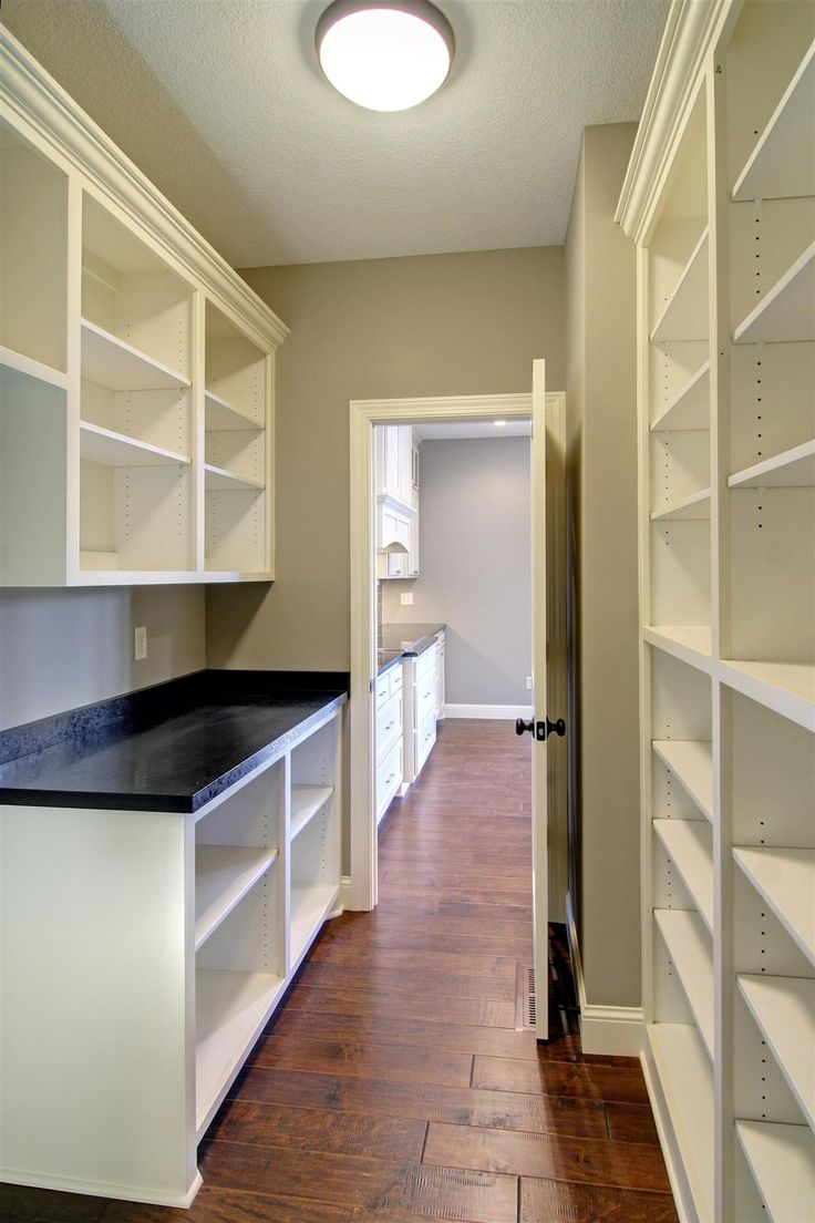 1000 ideas about walk in pantry on pinterest house for Walk in pantry