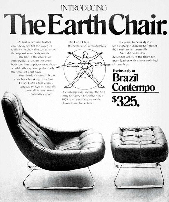 """Earth Chair"" by Percival Lafer for retailer Brazil Contempo"