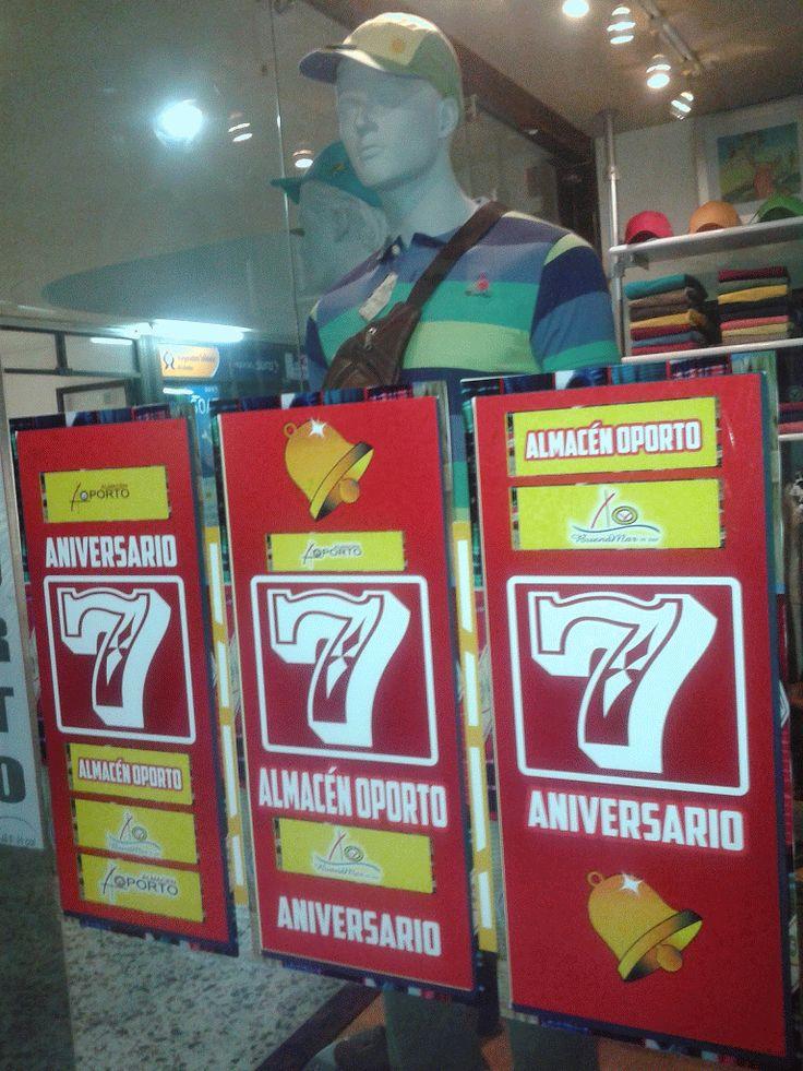 7 Aniversario Almacén Oporto #Cartago #Pereira @JorgeEMoncadaA
