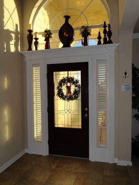 Best 25 sidelight curtains ideas on pinterest for Foyer curtain ideas