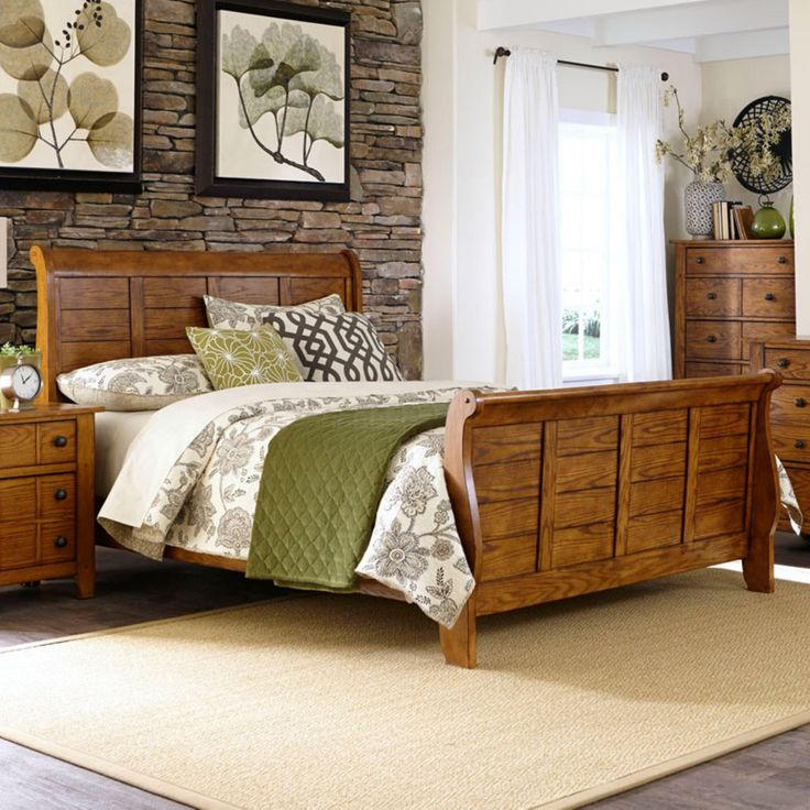 25+ Best Ideas About Rustic Sleigh Beds On Pinterest
