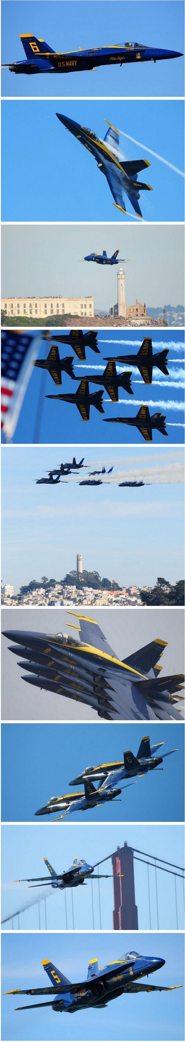 U.S. Navy Blue Angels (jets)