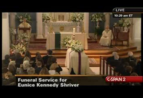 Eunice Kennedy Shriver Funeral | ... important links to the Eunice Kennedy Shriver Funeral pictures,video