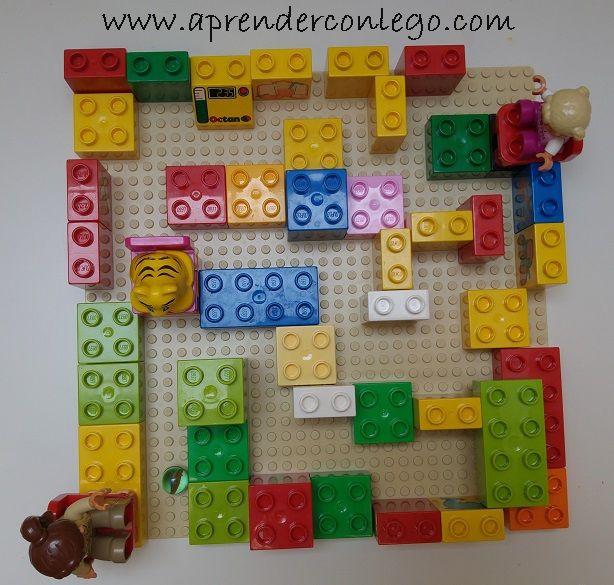Lego_duplo_laberinto_maze_ #legoduplo