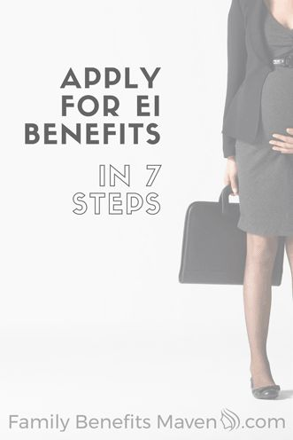 This is the last thing you should be stressing about. Learn how to apply for EI in 7 simple steps.