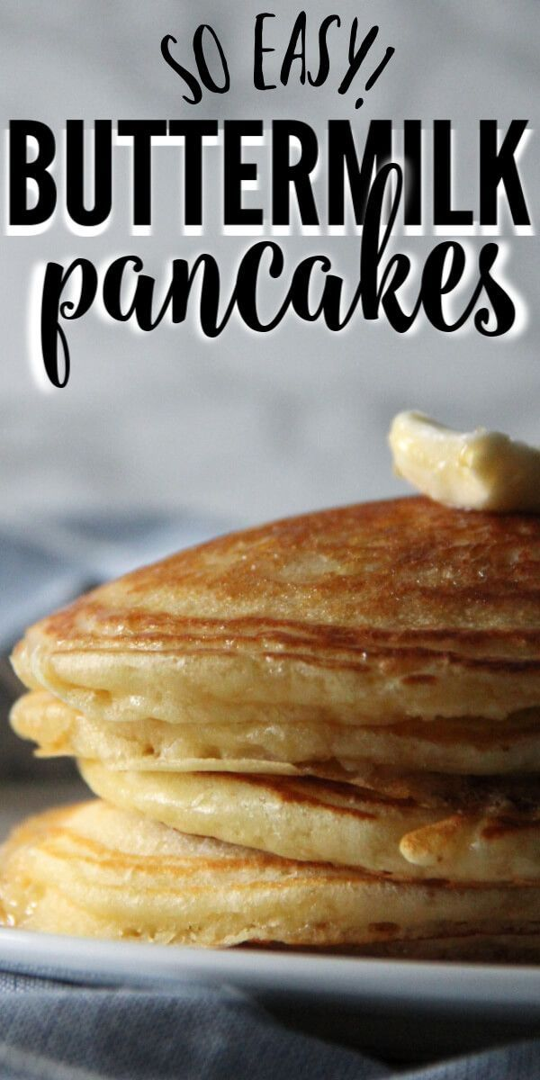 Homemade Buttermilk Pancakes In 2020 Homemade Buttermilk Pancakes Homemade Buttermilk Homemade Breakfast Recipes