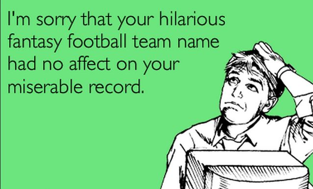 Fantasy Football team names: The best & funniest for 2016/2017
