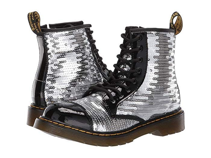 Dr Martens 1460 Pooch Sequins Boot Size Us 5 For Adelaide Sequin Boots Girls Shoes Kids Boots