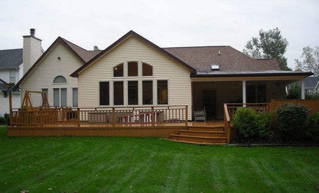 Ranch style homes are great starter homes owing to their for Ranch addition cost