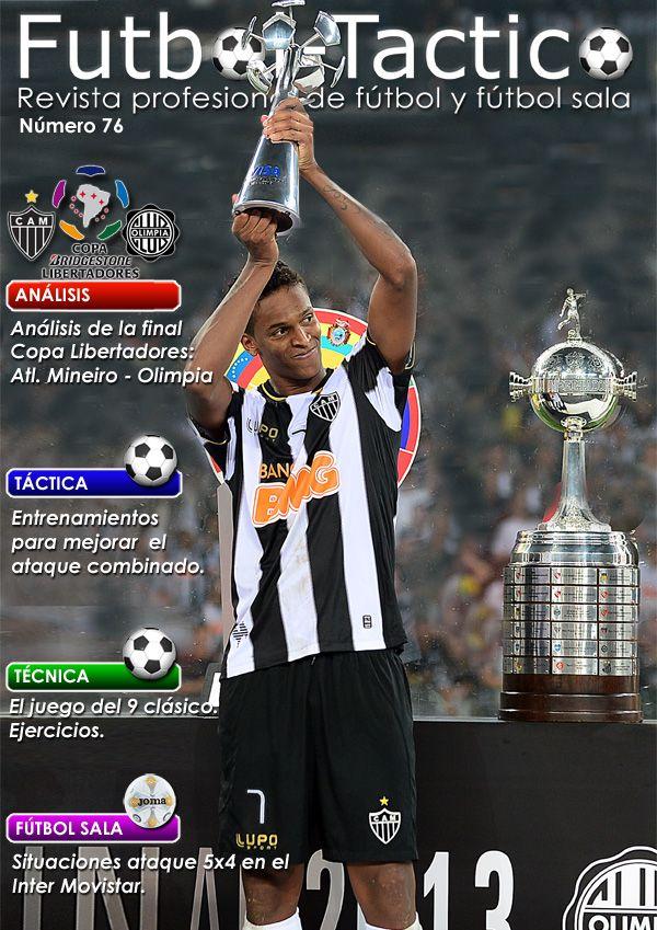 Fútbol Táctico | Portada de la edición número 76 [ http://www.futbol-tactico.com/es/ ]