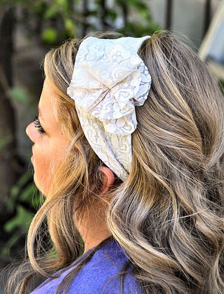 Lace headband!: Crafts Ideas, Brooches, Hair Nails Makeup Clothing, Lace Headbands, Cute Headbands, Diy Crafts, Crafty, Accessories, Clothing Fashion