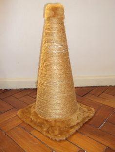 Dicas para gateiros: Como fazer um arranhador de cone                                                                                                                                                     Mais