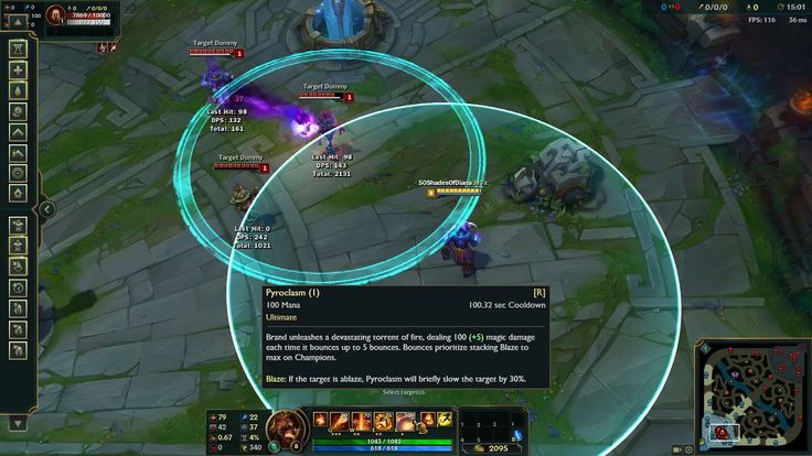 Brand Ult Inconsistency - Spaghetti code? https://youtu.be/ElkXtGXUPEY #games #LeagueOfLegends #esports #lol #riot #Worlds #gaming