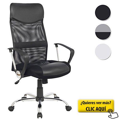 SixBros. Design - Sillón de oficina Silla de oficina Silla giratoria negro - H-935-6/1319 #sillon #oficina