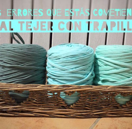 Cómo elegir la aguja adecuada para tejer con trapillo   SANTA PAZIENZIA