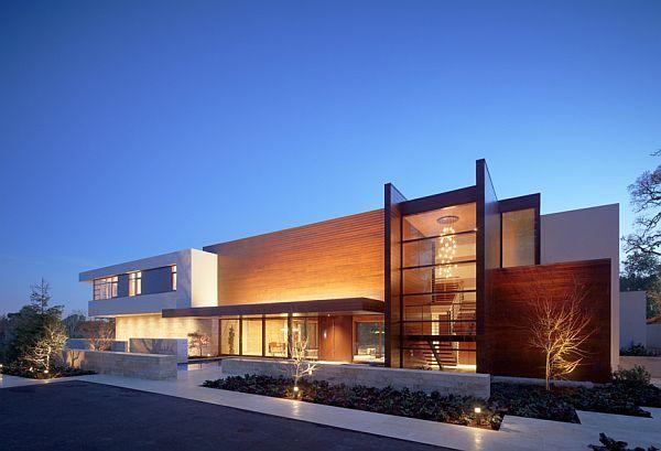Modern High-Tech Mansion in California: Bathroom Design, Swatt Mier, Dreams Houses, Silicone Valley, Modern Exterior, Oz Resident, Mier Architects, Modern Houses, Modern Home