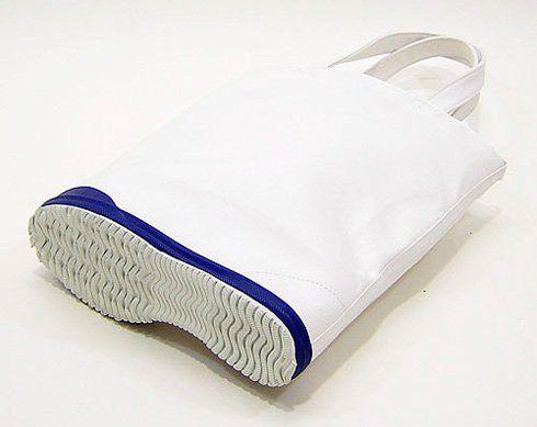 自立するトートバッグ。 SoleBag - まとめのインテリア / デザイン雑貨とインテリアのまとめ。
