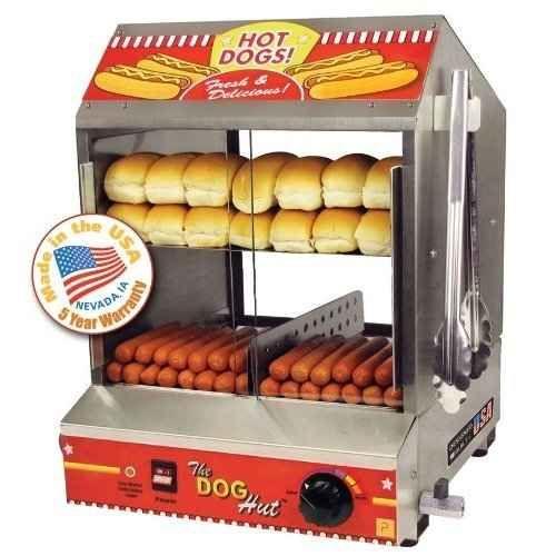 Bonnie's 30-minute hot dog or hamburger buns
