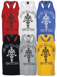 Cheap tank tops, muscles shirts and bodybuilding clothing for men. World renowned official Gold's Gym shirts. Visit the Best Form Fitness Gear online Discount store retailer. http://www.bestforminc.com/?information_id=9