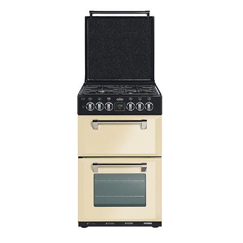 Mini Richmond 54 dual fuel range cooker - Cream #Belling #UKmade #madeinBritian #British #cooker