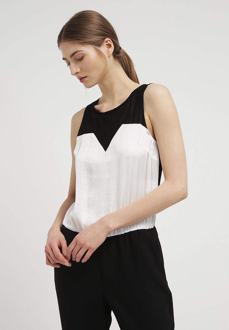 NAF NAF YEND Combinaison black/off white pour femme prix promo Combinaison Naf Naf Zalando 80.00 €