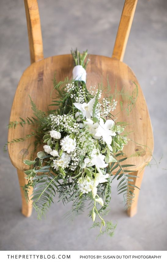 Fresh White Bridal Bouquet   Photography by Susan du Toit Photography   Styled Shoot
