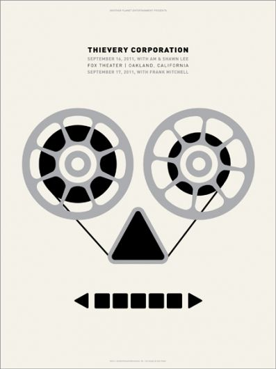 GigPosters.com - Thievery Corporation - Am & Shawn Lee - Frank Mitchell