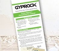 Follow the simple steps in this guide to achieve a beautifully installed Gyprock™ plasterboard ceiling - just like the professionals.