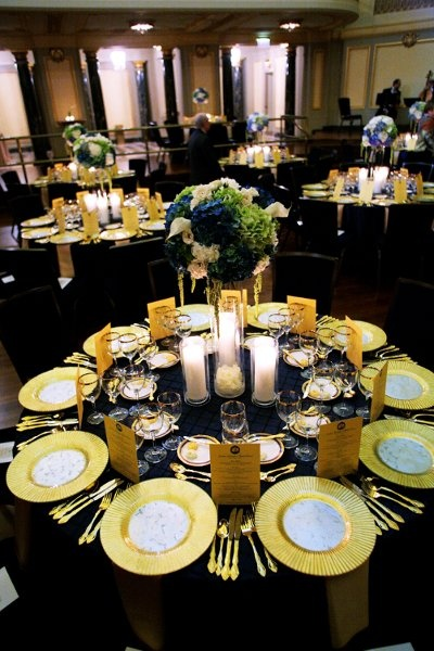 17 Best images about Blue and Gold Wedding on Pinterest ...