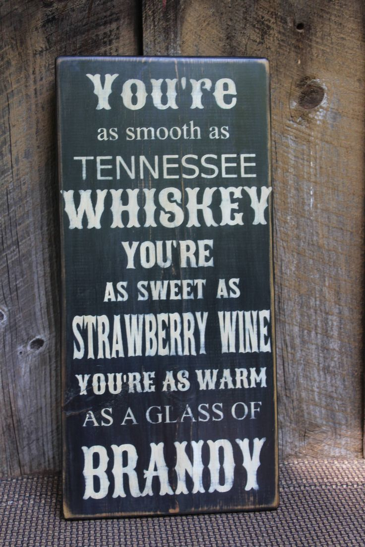 Tennessee Whiskey Lyrics Wood Sign Primitive Wood sign Music Sign Lyrics Bar Decor Man Cave Hippie Biker Weed Country Patio Porch Deck by FoothillPrimitives on Etsy