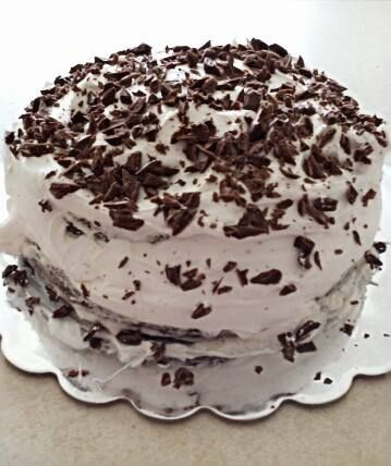 Hershey Chocolate Cake With Cool Whip Icing