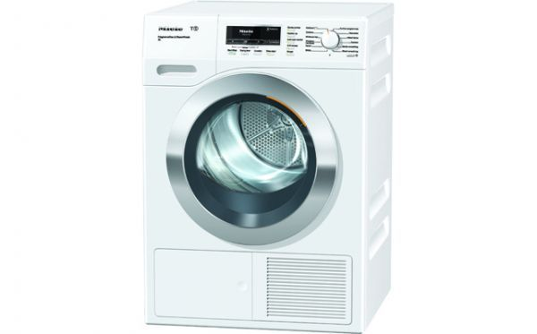 Tumble Dryers TKR 450 WP: T1 Heat-pump tumble dryer with 8 kg and ProfiEcoMotor - best drying results even for large laundry loads. - Fragrant laundry just the way you like it - FragranceDos - The quick alternative to ironing with steam smoothing-SteamFinish - Preci...