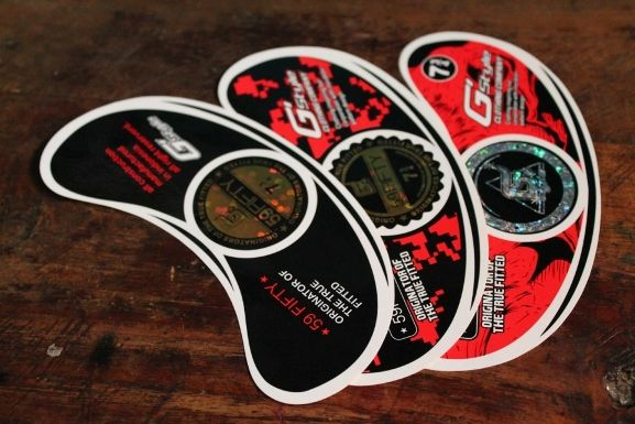 "Sticker Hip-hop Topi ""G-Style"""