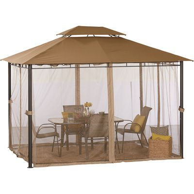 Deluxe Patio Gazebo Tent U2014 10ft. X 12ft  sc 1 st  Home Design Ideas & Patio Gazebo Tent - Home Design Ideas and Pictures