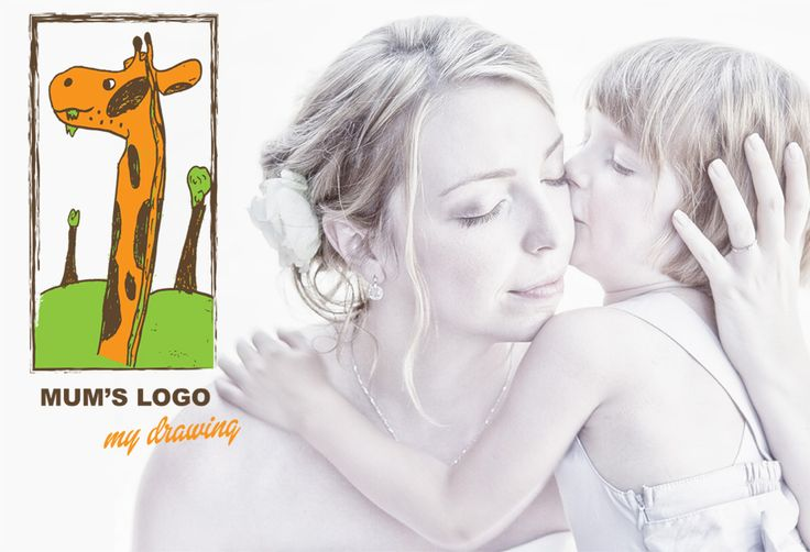 Making a company logo from kid's drawing
