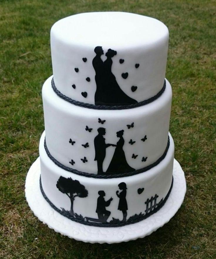 Wedding cake by AndyCake - http://cakesdecor.com/cakes/297644-wedding-cake