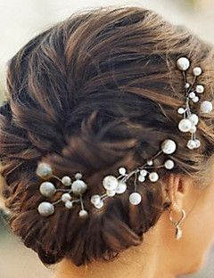hoofddeksels leuke vijf stukken parels bruiloft / feest haarspelden