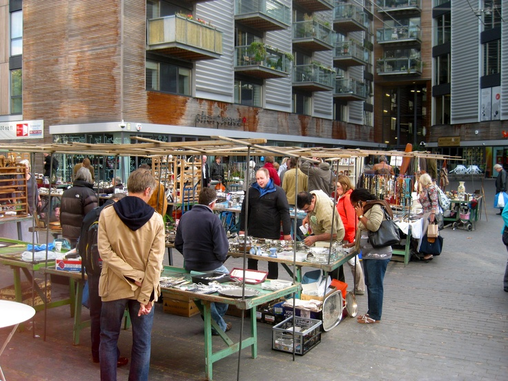 Bermondsey Market, London - get there EARLY!