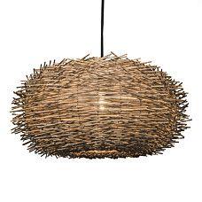 Lámpara colgante HATCH 55 marrón - 90889