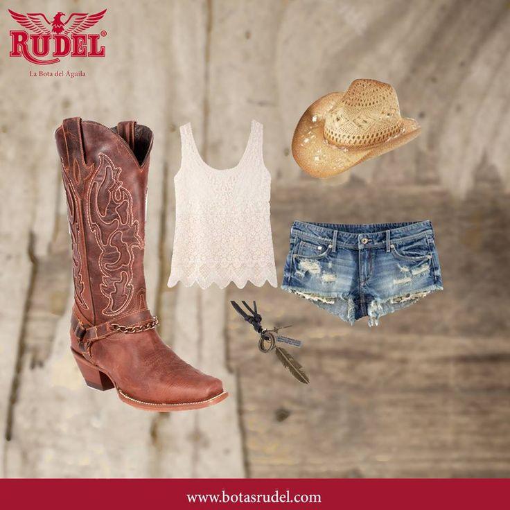 Lleva tu ropa favorita acompañada de #BotasRudel #RudelVaBien. . . . #Julieta #boots #cowgirls #mujer #vaquera #fashion #westernlife #rodeo #cowgirl #western #botas #shoeslover #artesanal #country #ranchwork #rodeostyle #moda #estilo #dama #womanfashion #modamexicana #fashiongirl #viernes #hechoenmexico #viernesito #diseño #mexicocreativo #EstiloRudel