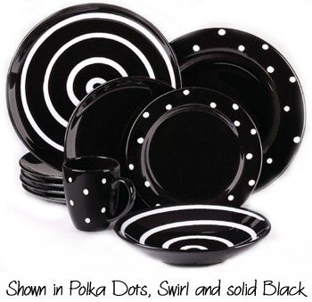 Polka Dot Dishes Dinnerware | Waechtersbach Polka Dots Ceramic Dishwasher Safe Made in the Germany