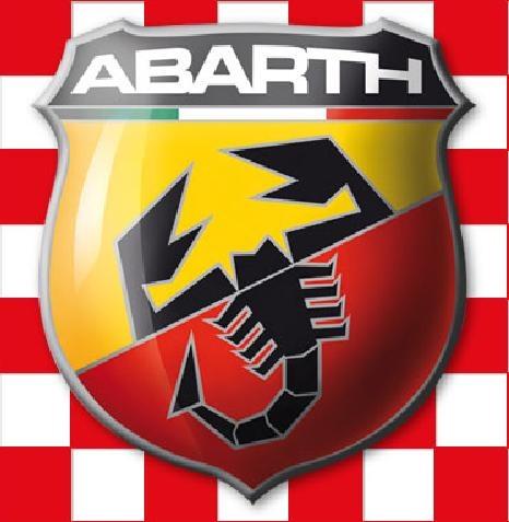 Abarth Checkered Logo