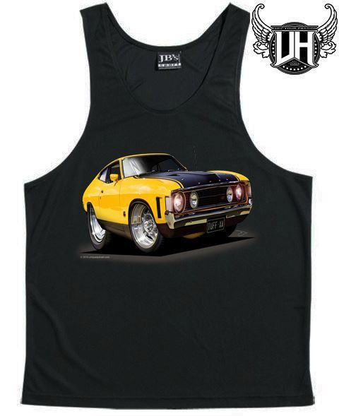 XA GT Ford Coupe, SINGLET, Cartoon Design, Globe Wheels, Exclusive - Part B
