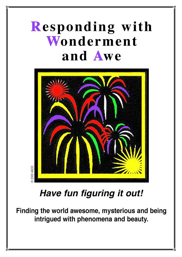 Responding with Wonderment and Awe | Habits of Mind ...