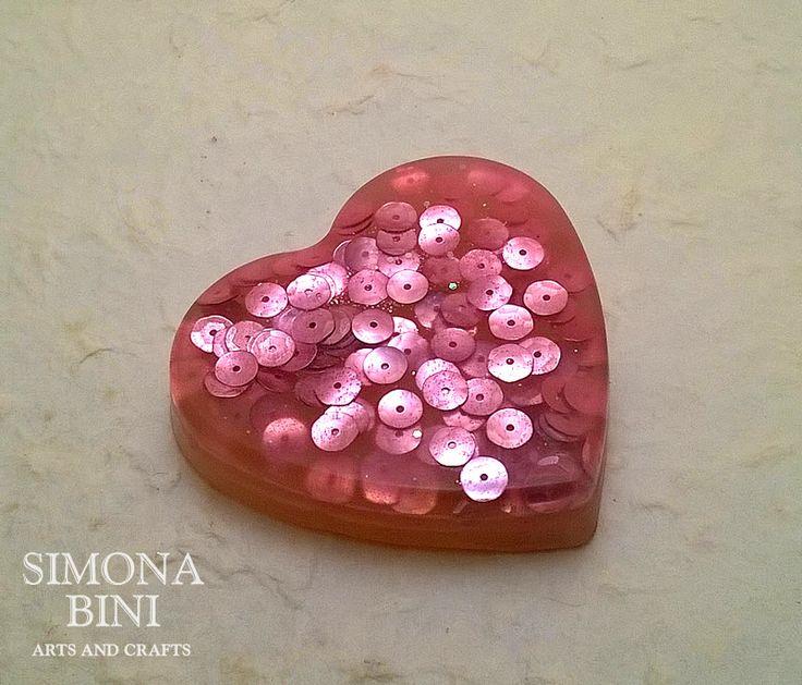 Sapone cuore rosa