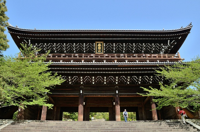 Sanmon of Chion-in Temple, Kyoto / 知恩院・三門(京都) Japan